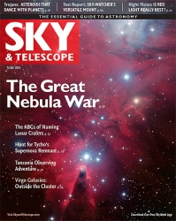 Sky and Telescope June 2016
